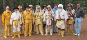 Mountain Men degree team